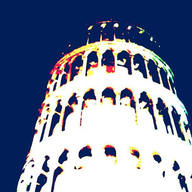 Andy Warhol pop word takes over Pisa   Flickr - Photo Sharing!