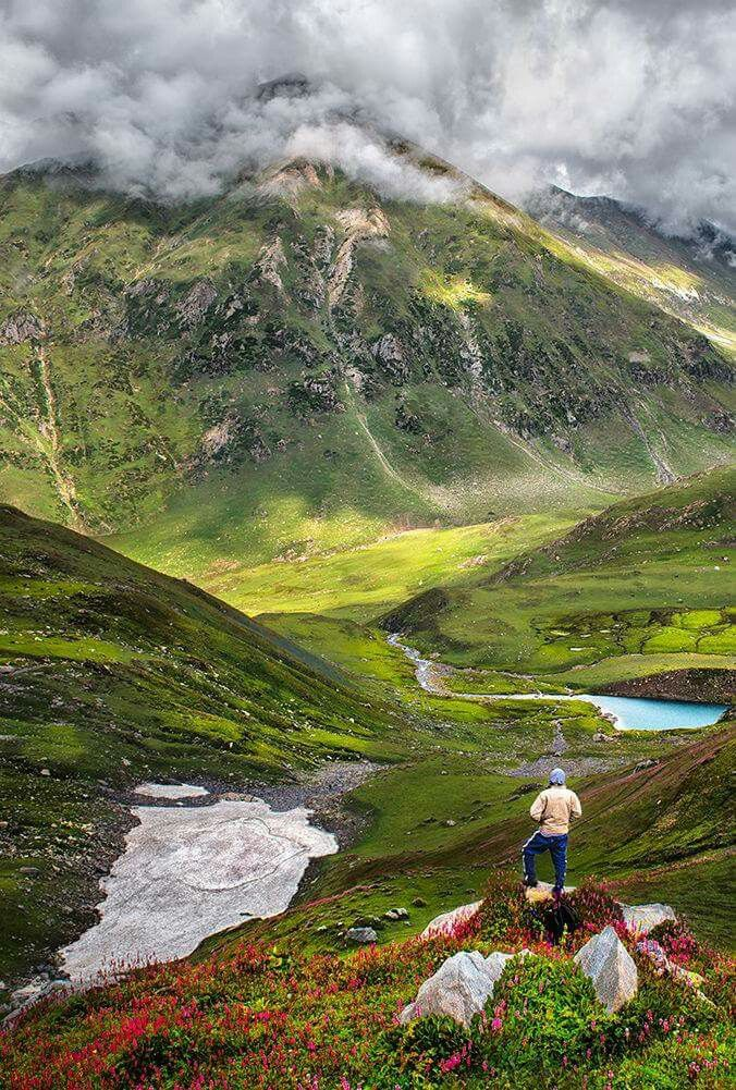 Ratti gali Lake neelam Valley Pakistan