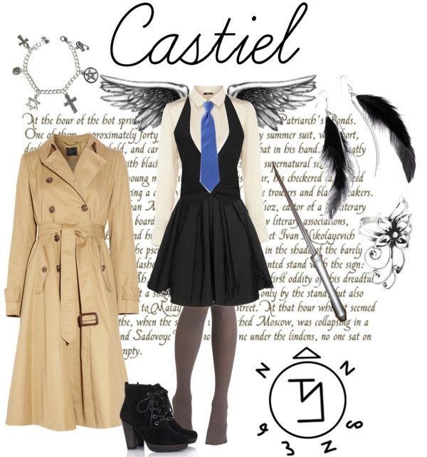 cosplay castiel woman - Buscar con Google