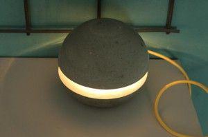 Betonlampe--Beton Lampen-Kreativ Beton-Kreativbeton -8