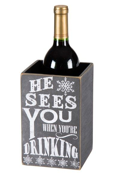 Great wine bottle box!  Such a great hostess gift!