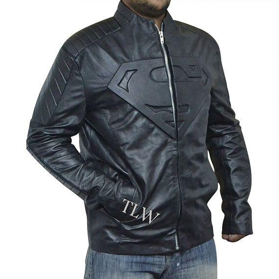 Superman Smallville , Man of Steel Jacket, Superman Suite, Black Star Jacket, All Sizes on Etsy, $58.00