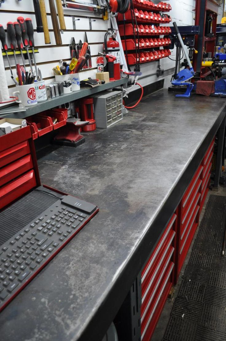 Metal Workbench Counter