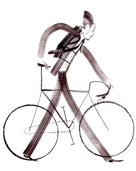 자전거 그래픽 디자인