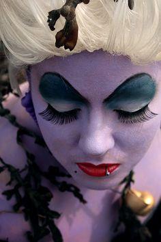 maquillage ursula la petite sirene - Recherche Google
