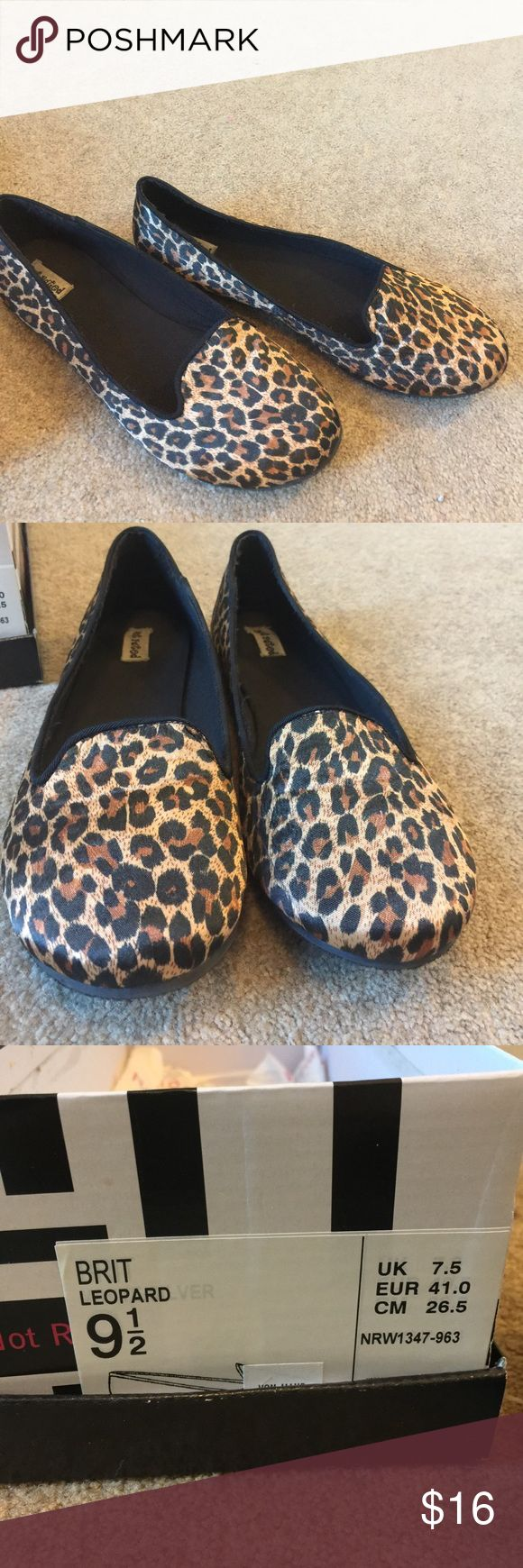 Leopard ballet flats Fabric upper. TV Not Rated Shoes Flats & Loafers