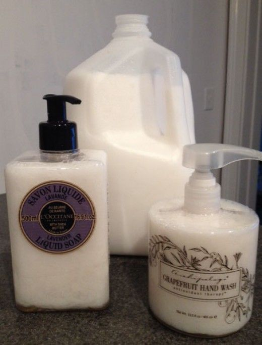 DIY Liquid Hand Soap: How To Save Hundreds Making Your Own. I'm going to try this using Sappo Hill soap ($2) instead of the goat milk soap (almost $5) in the tutorial.