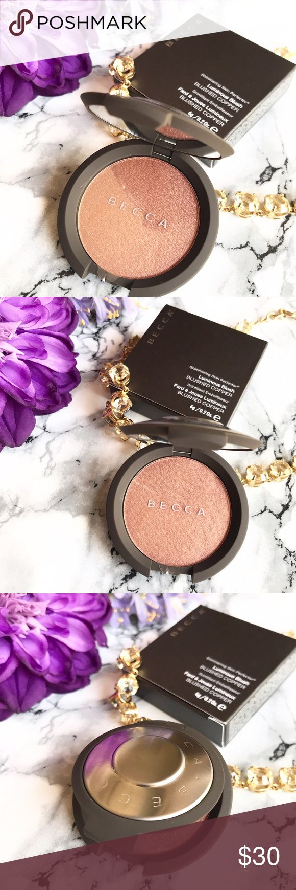 🆕 NEW 🌷 Becca Skin Perfector Pressed Blushed Cop 🆕 NEW 🌷 Becca Shimmering Skin Perfector Pressed in BLUSHED COPPER 🍃 Full Size * Brand New * Never Used * Never Swatched 🍃 Cult Favorite for Medium to Dark Skin tone! 💕 FIRM PRICE 💕 Always NEW, Always AUTHENTIC 💕 BECCA Makeup Luminizer