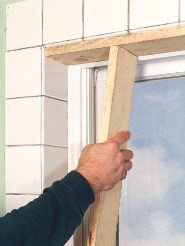 Tiling a Window Recess