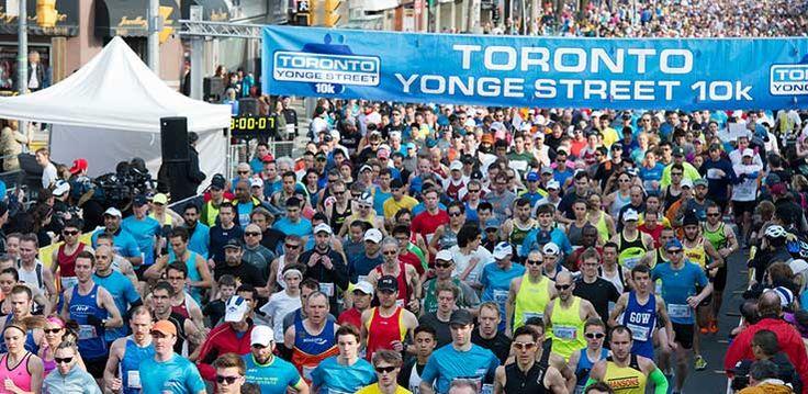 Toronto Yonge Street 10k | Canada Running Series | Circuit du Canada. I ran this last year. Really enjoyed it.