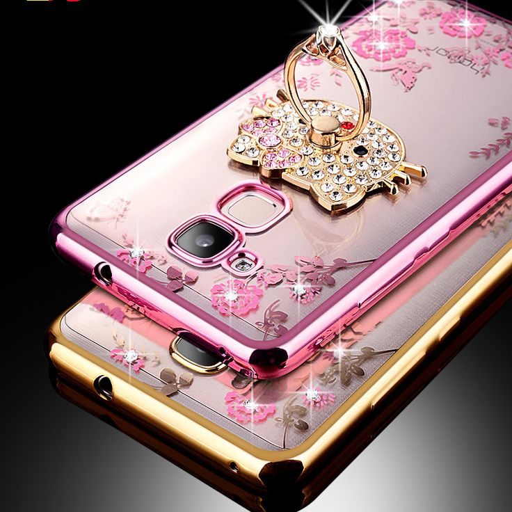 For Huawei Honor 5X/GR5/Honor X5 Case Luxury Plating Gilded TPU Case silicone soft Back Cover Accessory Coque For Honor5X Fundas
