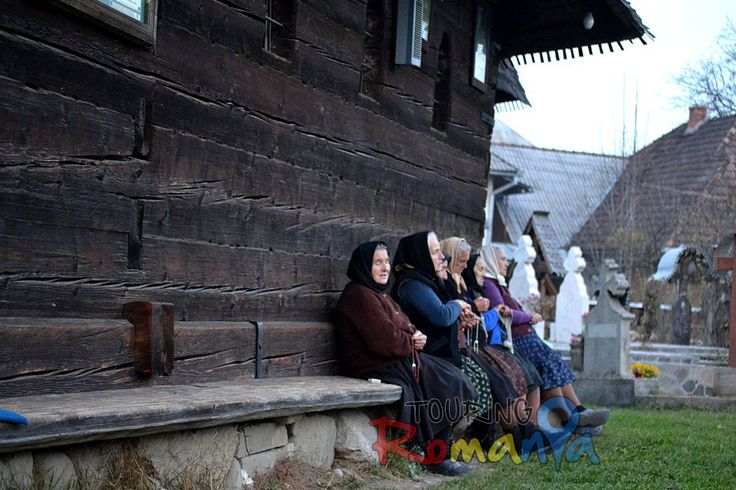 I have been impressed by this group of old greek-catholic ladies from Ieud, a remote village in Maramures (Northen Romania), praying the Rosary every evening at their ancient wooden church renown as Maramures' Cathedral. Maramures has just been designated by National Geographic amongst the Top 20 Trip Destinations for 2015. I spent one week taking pictures in this land if Christian faith and ancient traditions and I can assure you that you would not regret visiting it.