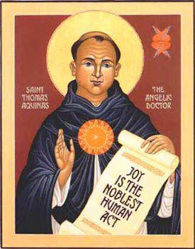 St Thomas Aquinas, Doctor and Friar