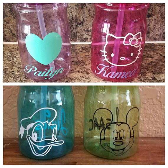 Botellas de agua personalizadas niños