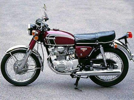 Honda CB 360 twin