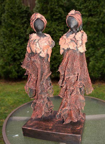 Recent Sculptures 2013-2014 - Fabric Art ROCKS! Sculptures by Lise