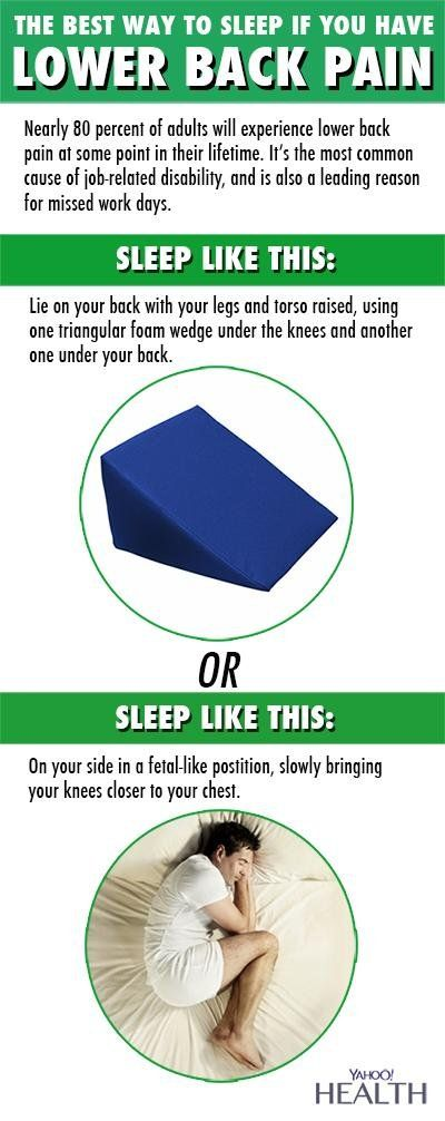 16 best images about best sleeping positions for back pain for Best sleeping posture for back pain