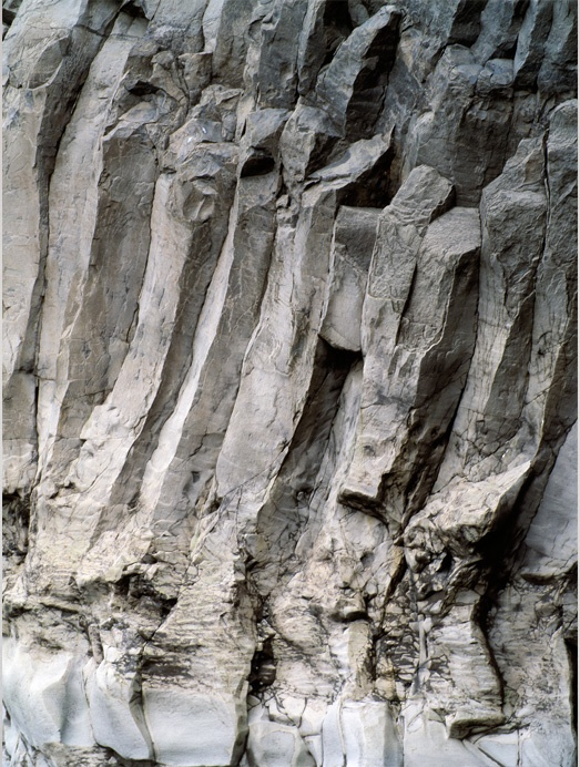 Art in Nature - rough rock textures; organic surface pattern inspiration for design
