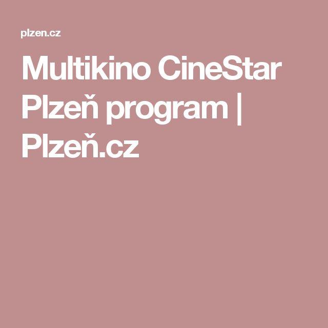 Multikino CineStar Plzeň program   Plzeň.cz