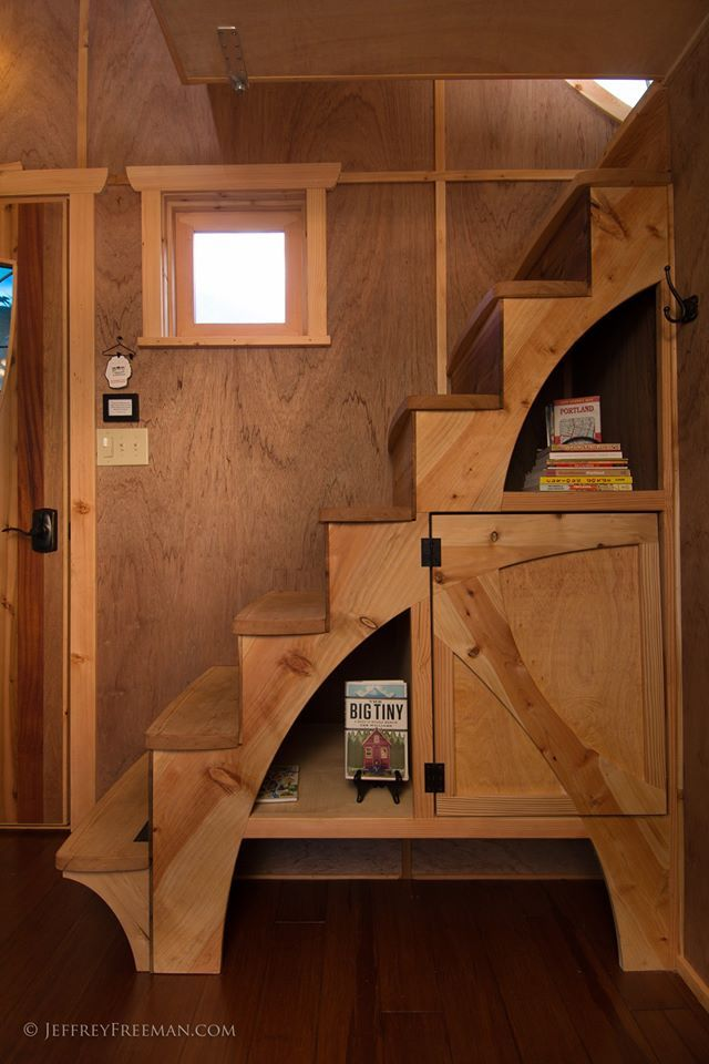 Living in a shoebox     The Hotel Caravan welcomes new wheelchair accessible tiny house