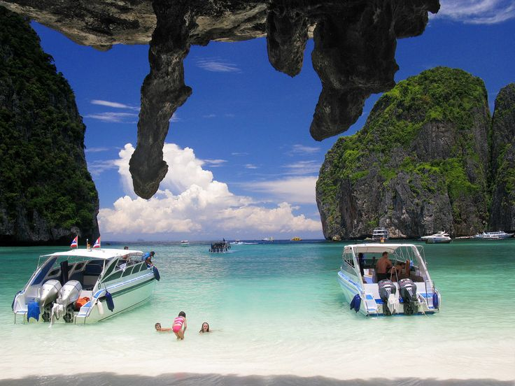 Phi Phi Islands | experience the phi phi islands by a speed boat with some thrill of air ...