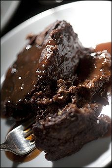 Chocolate Bread Pudding - dear lord of everything that is good this is a verrry rich pudding and makes enough to serve 12 easily - the idea of adding caramel sauce is both horrifying and immensely tempting....