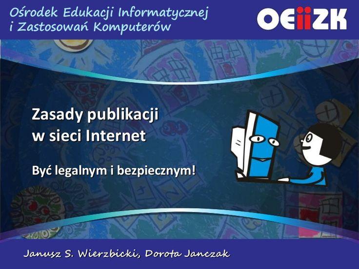 Zasady Publikacji  w Internecie