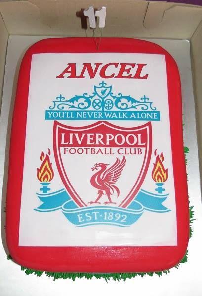 #Liverpool Fan Cake