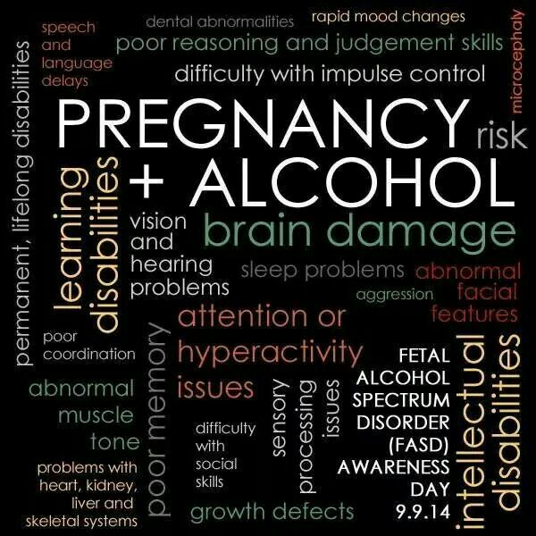the dangers of fetal alcohol syndrome Fetal alcohol syndrome effects and helpful coping information.