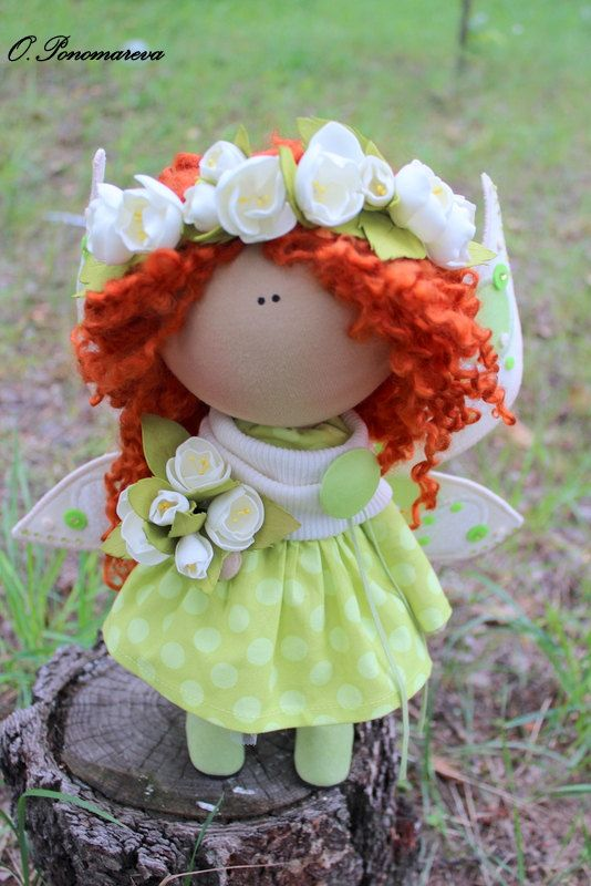 Mariposa muñeca tela muñeca Tilda muñeco por AnnKirillartPlace