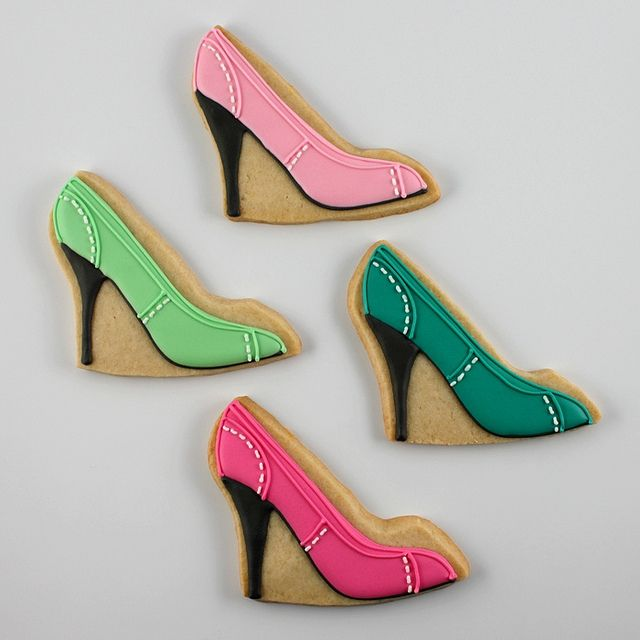 High Heel Shoe Cookies by Alis Sweet Treats (Andrea)