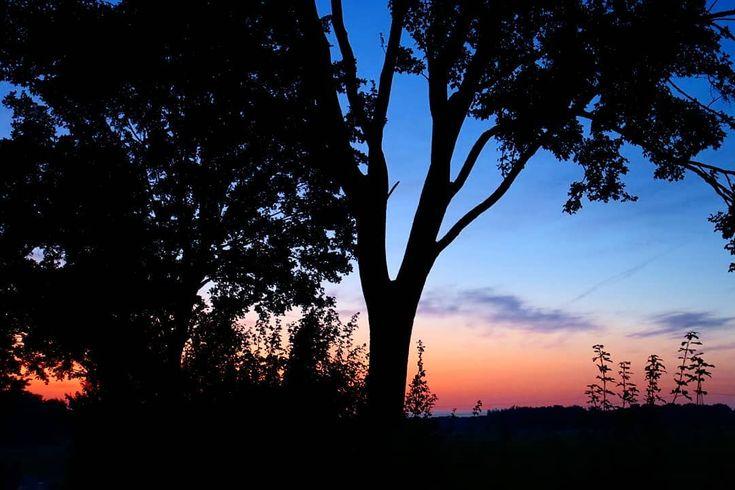 – sunset August 2019 – . . . #Natur #Naturfotografie #Fotografie #Landschaft #Naturfotografie