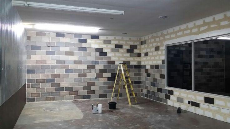 Painted Concrete Block Wall Cinder Block Walls Concrete