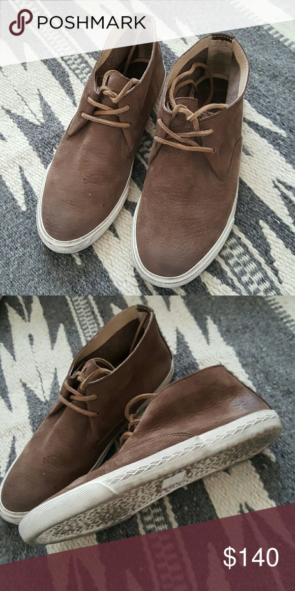 Frye Mindy Chukka Sneakers 7.5 Only worn a couple times, I had to size up. Frye Shoes Sneakers