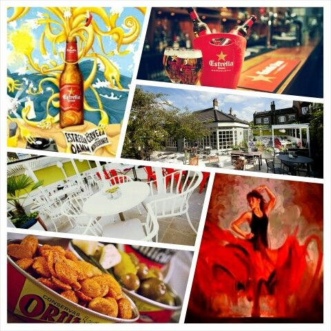 Catalonia is coming to Wandsworth, Estrella Pop up beer garden Early May Bank Holiday weekend. Woop!