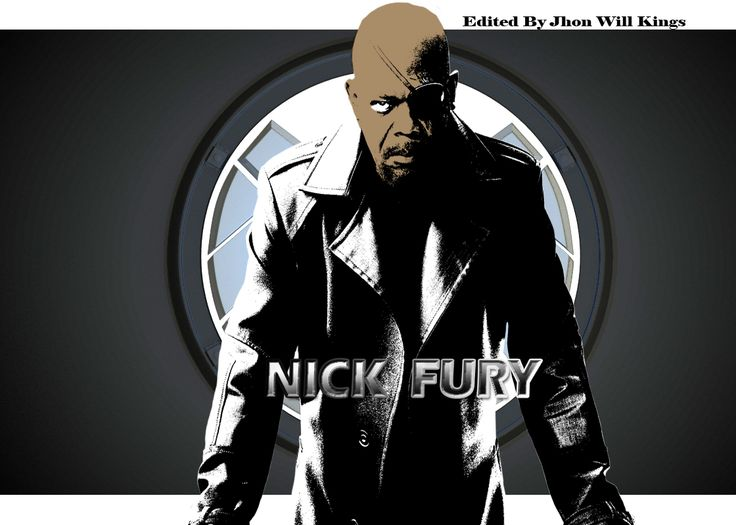 "Still continuing the theme marvel,Nick Fury invite everyone for watching ""Avengers 2 ""age of ultron. Ainda continuando o tema marvel,Nick Fury convida a todos a assistir ""Os Vingadores 2"" Era de Ultron. Created by Jhon Will Kings."