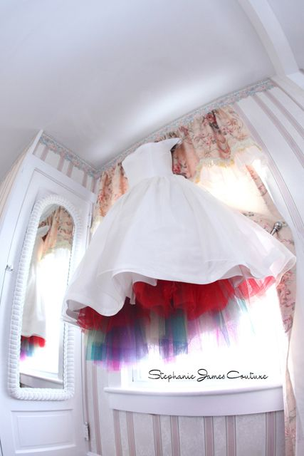 261 best images about dreamboats and petticoats on for Rainbow wedding dress say yes to the dress