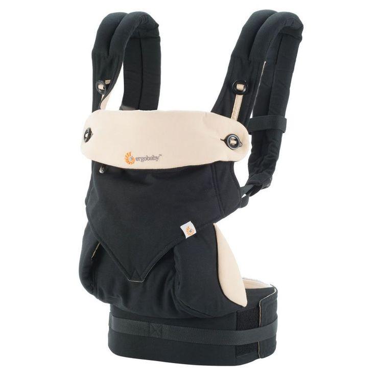 Free Shipping ERGOBABY Four Position 360 Baby Carrier Black/Camel Ergo Baby #ErgoBaby