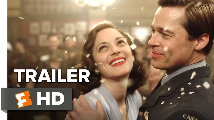 ■ Allied ■ 121 min   -   Action | Drama | History | Romance | Thriller | War ■ In 1942, an intelligence officer in North Africa encounters a female French Resistance fighter on a deadly mission behind enemy lines. When they reunite in London, their relationship is tested by the pressures of war. Director: Robert Zemeckis Stars: Brad Pitt, Marion Cotillard, Jared Harris, Daniel Betts
