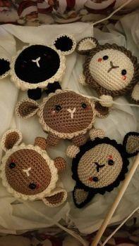 DeviantArt: More Like Lilo The Baby Alpaca Amigurumi Pattern by Marik0