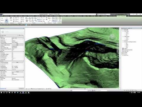 Google Map Contours into a Revit Toposurface using Dynamo and Flux - YouTube