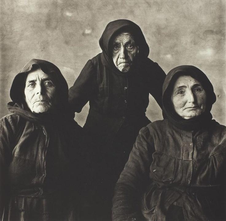 Irving Penn American, 1917–2009 Three Cretan Women, Crete, 1964