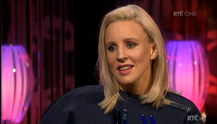 Joanne on The Saturday Night Show, RTE.
