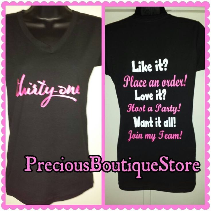 Thirty-One Consultant Vinyl Shirt by PreciousBoutiqueTx on ...