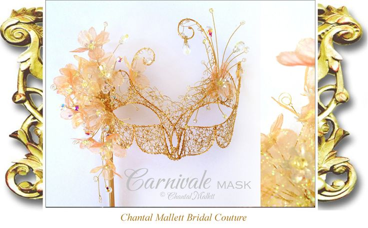 Chantal Mallett Wedding Accessories: Mini Top Hats, Venetian Masks & Jewellery.
