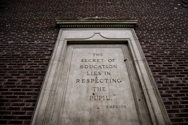 The secret in education lies in respecting the pupil. ~ Emerson