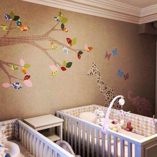 Детские комнаты для новорожденных: 15 фото