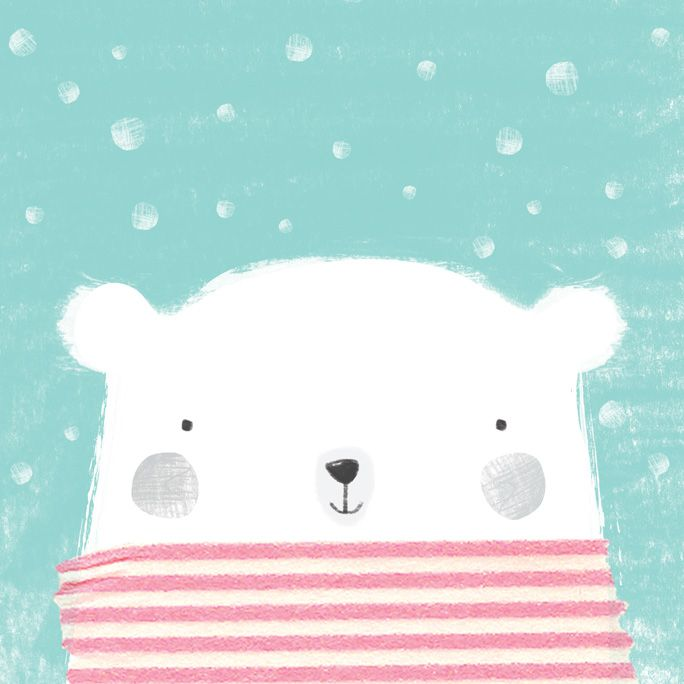 Gemma Luxton - Polar bear illustration