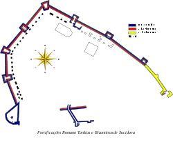 Sucidava fortress plan-pt.svg