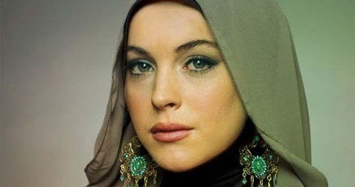 Peringati Hari Perempuan, Lindsay Lohan Sebut Nabi Muhammad